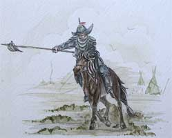 Mongol spearman